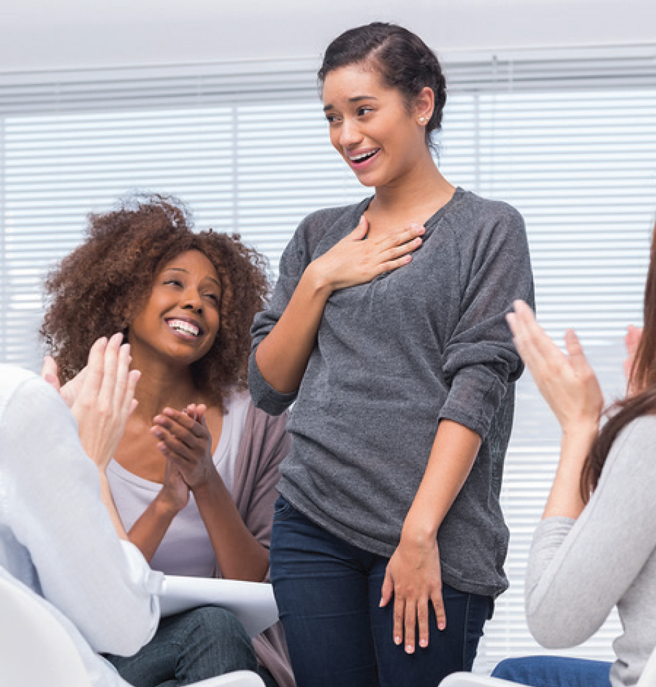 support groups for weight loss essay This web page was developed from a survey of dbsa support group members— people living  loss of appetite or overeating may be symptoms of depression.
