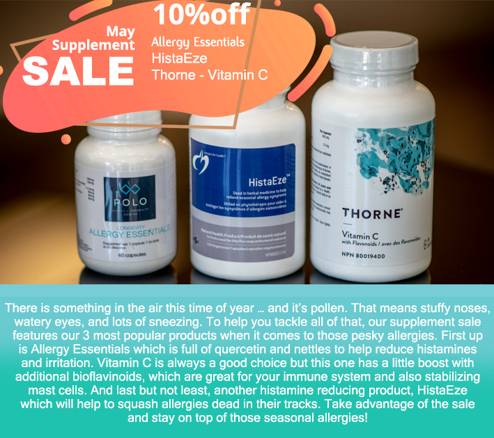May supplement sale